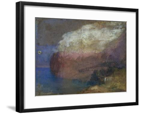 Corsica, a Wooded Headland, c.1828-J^ M^ W^ Turner-Framed Art Print