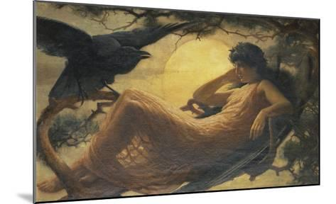 And the Night Raven Sings, Bosom'd High in the Tufted Trees, Where Perhaps Some Beauty Lies-John Scott-Mounted Giclee Print