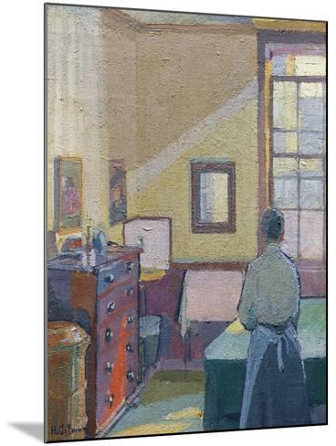 Interior, 1917, Catalogue No 1317C-Harold Gilman-Mounted Giclee Print