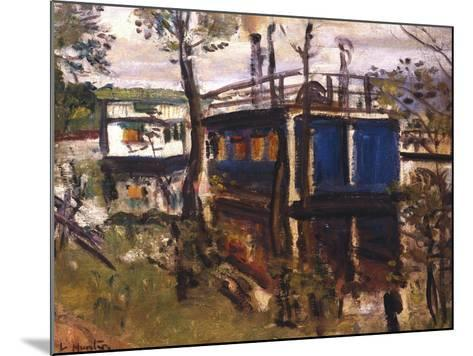 House Boats, Loch Lomond--Mounted Giclee Print