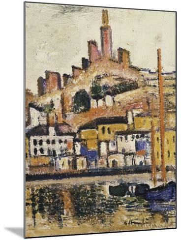 Marseilles-George Leslie Hunter-Mounted Giclee Print