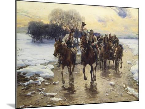 The Wedding Party-Alfred von Wierusz-Kowalski-Mounted Giclee Print