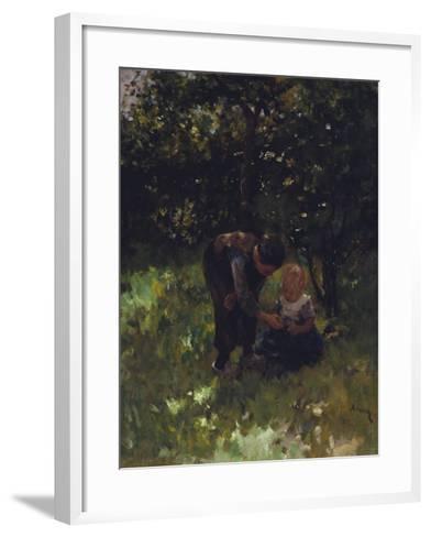 Apple For Little Sister-Jacob Simon Kever-Framed Art Print