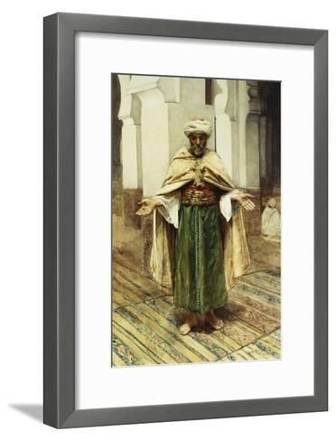Praying Arab-Maria Martinetti-Framed Art Print