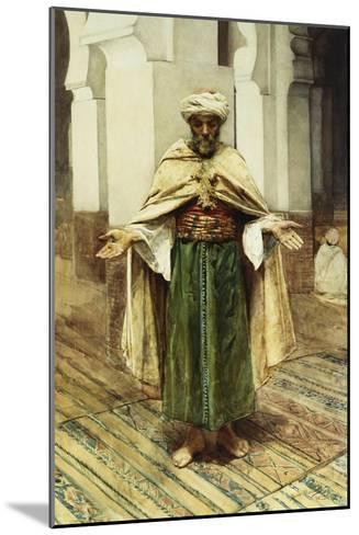 Praying Arab-Maria Martinetti-Mounted Giclee Print