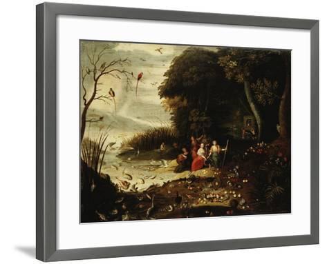 Autumn-Jan van Kessel-Framed Art Print