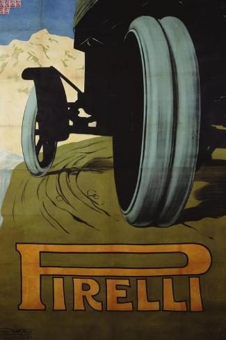 Pirelli, c.1920--Stretched Canvas Print
