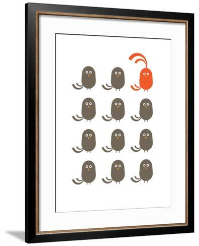 Red Dudes-Avalisa-Framed Art Print