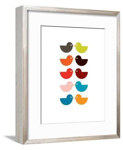 Multi Kiss-Avalisa-Framed Art Print
