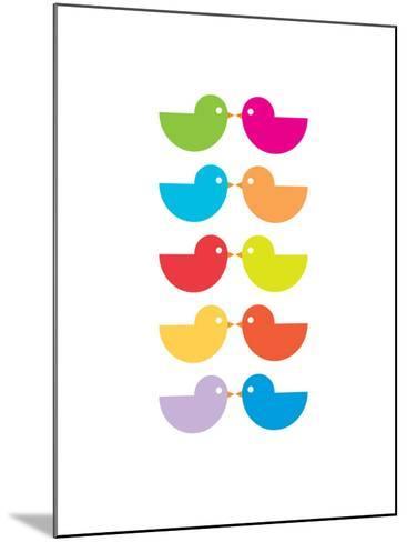 Rainbow Kiss-Avalisa-Mounted Art Print