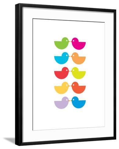 Rainbow Kiss-Avalisa-Framed Art Print