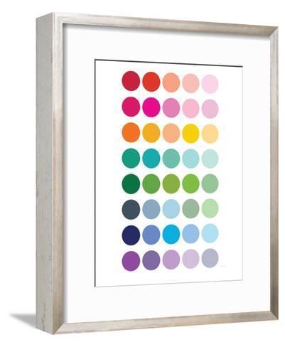 Rainbow Dots-Avalisa-Framed Art Print