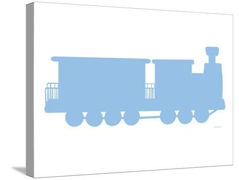 Blue Train-Avalisa-Stretched Canvas Print