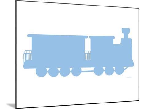 Blue Train-Avalisa-Mounted Art Print