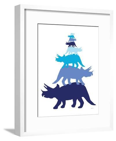 Blue Tritop-Avalisa-Framed Art Print