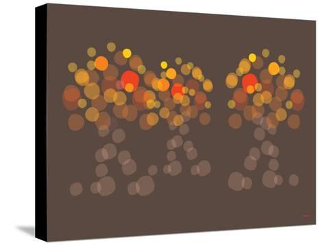 Brown Orange Wonder-Avalisa-Stretched Canvas Print