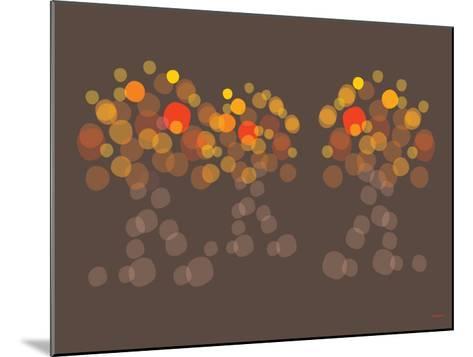 Brown Orange Wonder-Avalisa-Mounted Art Print