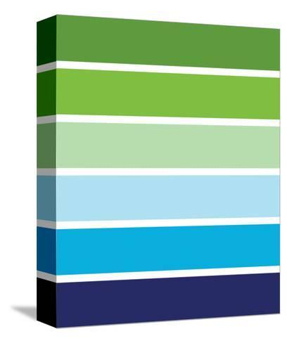 Cool Stripes-Avalisa-Stretched Canvas Print