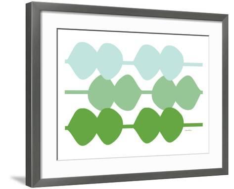 Green Design, no. 95-Avalisa-Framed Art Print