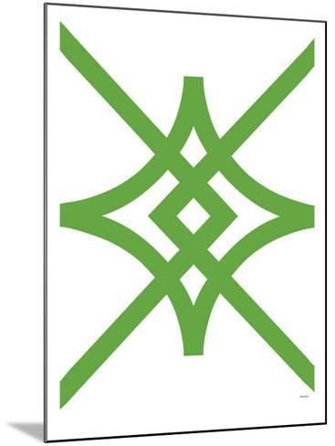 Green Diamond-Avalisa-Mounted Art Print