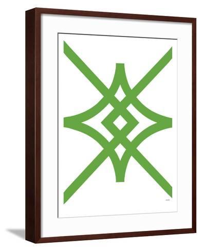 Green Diamond-Avalisa-Framed Art Print