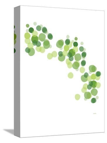 Green Float-Avalisa-Stretched Canvas Print