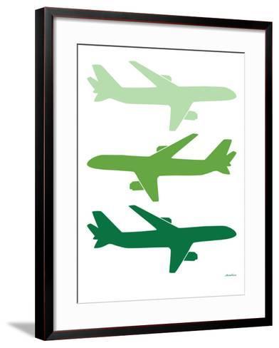 Green Planes-Avalisa-Framed Art Print