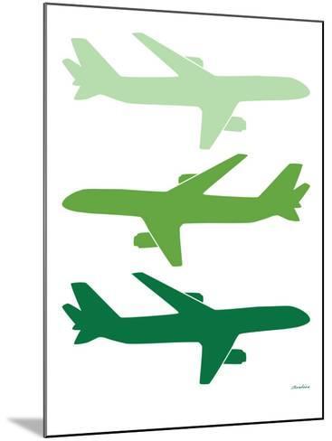 Green Planes-Avalisa-Mounted Art Print