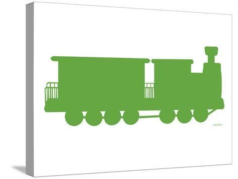 Green Train-Avalisa-Stretched Canvas Print