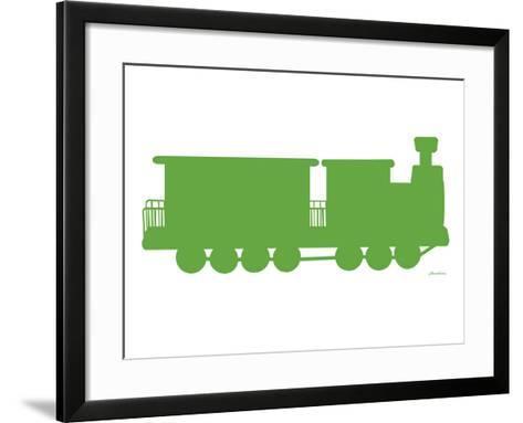 Green Train-Avalisa-Framed Art Print