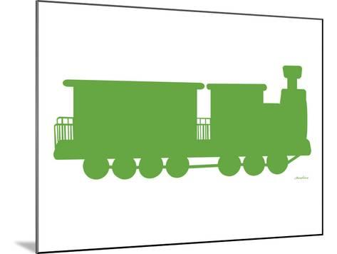 Green Train-Avalisa-Mounted Art Print