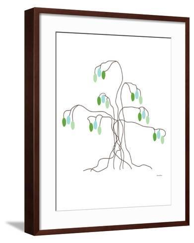 Green Willow-Avalisa-Framed Art Print
