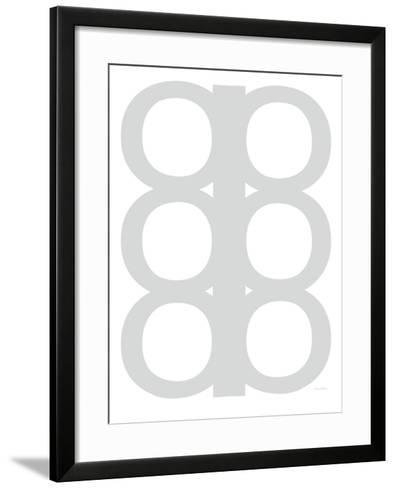 Grey Design, no. 300-Avalisa-Framed Art Print