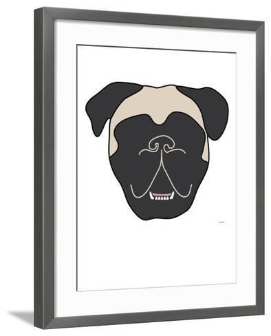 Mastiff-Avalisa-Framed Art Print
