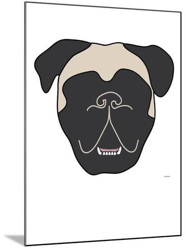 Mastiff-Avalisa-Mounted Art Print