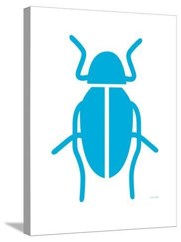 Blue Bug-Avalisa-Stretched Canvas Print