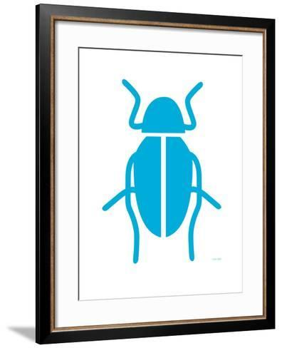 Blue Bug-Avalisa-Framed Art Print