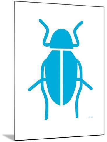Blue Bug-Avalisa-Mounted Art Print