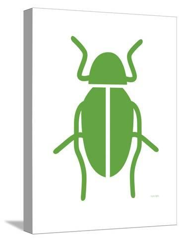 Green Bug-Avalisa-Stretched Canvas Print