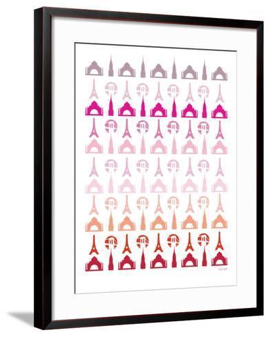 Pink Travel Architecture-Avalisa-Framed Art Print