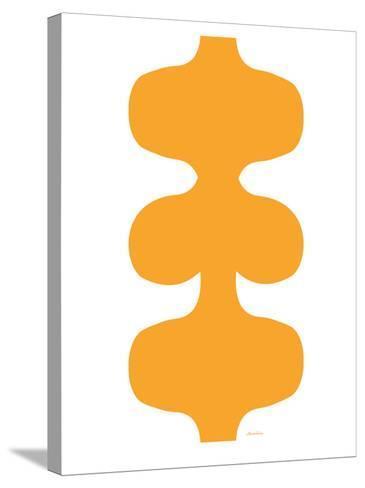 Orange Design, no. 115-Avalisa-Stretched Canvas Print