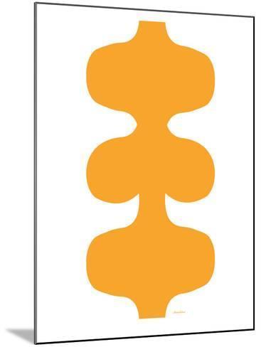 Orange Design, no. 115-Avalisa-Mounted Art Print