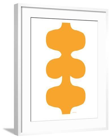 Orange Design, no. 115-Avalisa-Framed Art Print