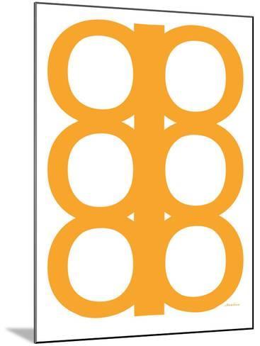 Orange Design, no. 300-Avalisa-Mounted Art Print