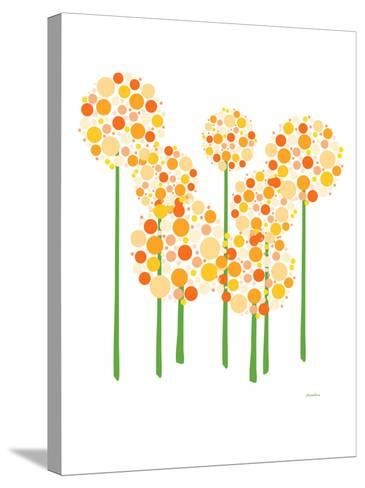 Orange Alliums-Avalisa-Stretched Canvas Print