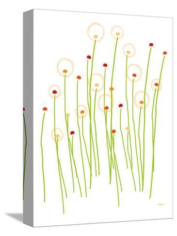 Orange Dandelion-Avalisa-Stretched Canvas Print
