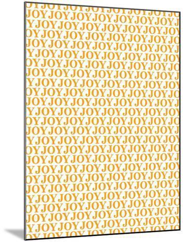 Orange Joy Joy Joy-Avalisa-Mounted Art Print