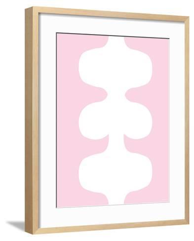 Pink Design, no. 115-Avalisa-Framed Art Print