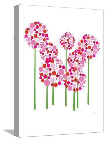 Pink Allium-Avalisa-Stretched Canvas Print