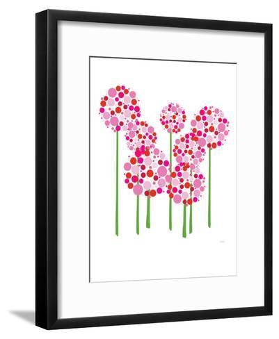 Pink Allium-Avalisa-Framed Art Print